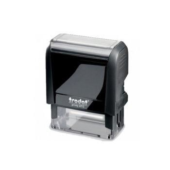 Автоматичен печат Trodat 4912 черен, 18/47 mm, правоъгълен image