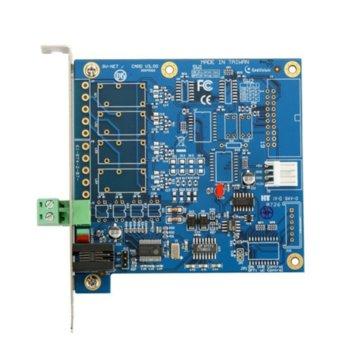 Контролер GeoVision GV-Net Card 55-NETCR-310, RJ-11 към RS232, USB, RS-485+/RS-485- image