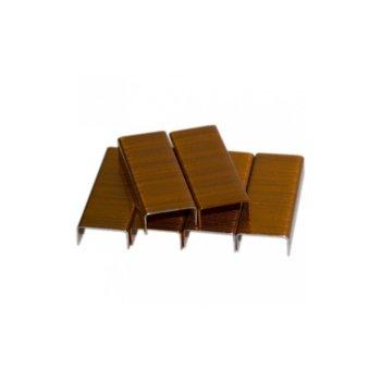 Телчета за телбод Kangaro №10, 1000бр. в опаковка, жълти image