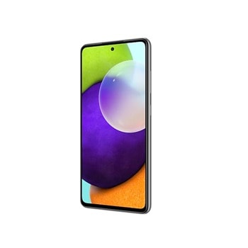 "Смартфон Samsung SM-A525F Galaxy A52 (черен), 6.5"" (16.51 cm) FHD+ Super AMOLED 90Hz дисплей, осемядрен Snapdragon 720G 2.3 GHz, 6GB RAM, 128GB Flash памет (+ microSD слот), 64.0 + 12.0 + 5.0 + 5.0 & 32 MPix камера, Android image"