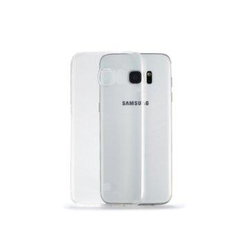 Калъф за Samsung Galaxy S7 Edge, протектор, термополиуретанов, Remax Crystal, прозрачен image