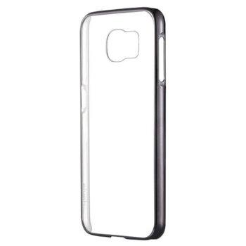 Калъф за Galaxy S7 Edge, страничен протектор с гръб, термополиуретан, Devia Glitter, сив image