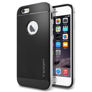 Spigen Neo Hybrid Metal Case for iPhone 6 Silver product