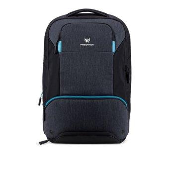 "Раница за лаптоп Predator Hybrid Backpack, до 15.6""(39.62 cm), черен/син image"