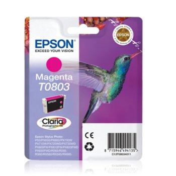 ГЛАВА ЗА EPSON STYLUS PHOTO R 265/R285/R360/RX560 - Magenta - P№ C13T08034010 image