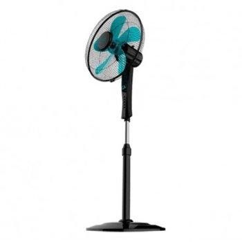 Настолен вентилатор Cecotec ForceSilence 520 Black, 4 скорости, PowerFlow технология, ForceSilence, SmartControl, AirFlow5 система, 50 W, черен image