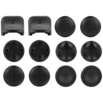 Гумени тапи Speedlink GUARD Silicone Skin Kit 7-in-1 (SL-4424-BK), за PS3 контролер, черни image