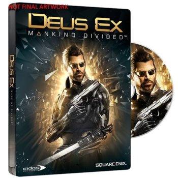 Deus Ex: Mankind Divided Steelbook Edition product