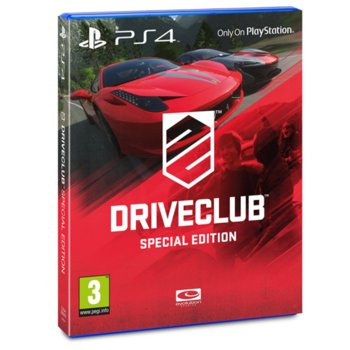 Driveclub Special Edition product