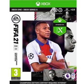 Игра за конзола FIFA 21 Champions Edition, за Xbox One image