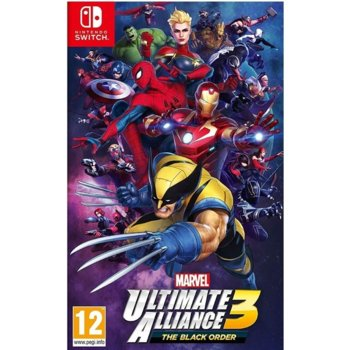 Игра за конзола Marvel Ultimate Alliance 3: The Black Order, за Nintendo Switch image