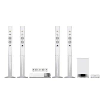 Soundbar система за домашно кино Sony BDV-N9200W, 5.1 канална, Bluetooth, HDMI, USB, 1200W, бяла image