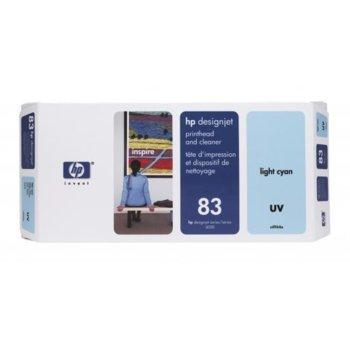 Мастило за HP 83 - C4964A - Light Cyan - 680ml/ 1 000к image