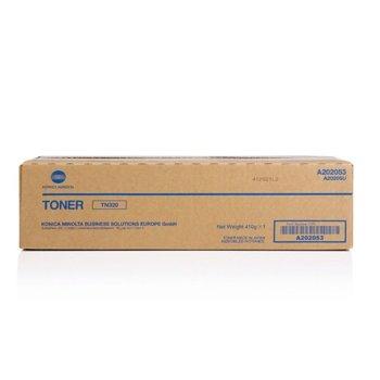 Касета за Konica Minolta BIZHUB 36 - Black - TN320 - P№ A202053 - Заб.: 20 000k image