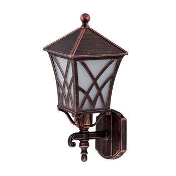 LED градинско осветително тяло Elmark EM96301WU/BRB, IP44, Стенен монтаж image