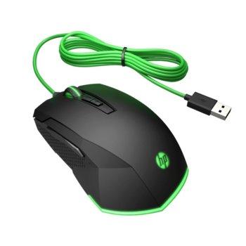 Мишка HP Pavilion Gaming Mouse 200 (5JS07AA), оптична (3200 dpi), USB, черна image