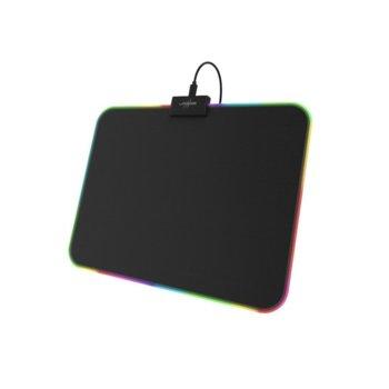 Подложка за мишка Hama Urage Rag Illuminated, гейминг, USB, LED осветление, 35 x 0.3 x 26 cm image