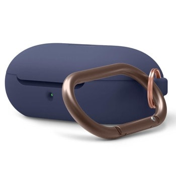 Защитен калъф Elago Silicone Hang Case за Samsung Galaxy Buds / Buds Plus, тъмносин image