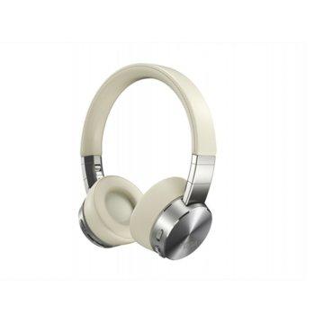 Слушалки Lenovo Yoga ANC Headphones, безжични, Bluetooth, ANC, ENC, сребристи image