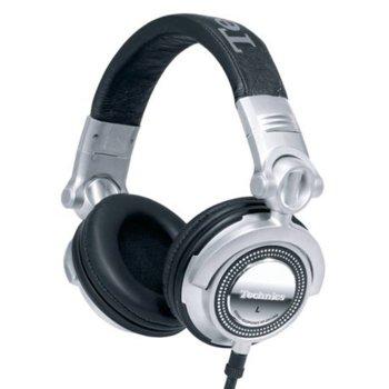 Слушалки Panasonic DJ Technics RP-DH1200E-S, 3.5mm жак, Extra Bass System, сребристи image