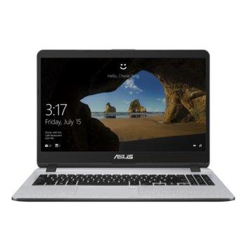 "Лаптоп Asus X507MA-EJ301 (90NB0HL1-M05530)(сив), четириядрен Gemini Lake Intel Pentium N5000 1.1/2.7 GHz, 15.6"" (39.62 cm) Full HD Anti-Glare Display, (HDMI), 4GB DDR4, 256GB SSD, 1x USB 3.1 Type C, Endless image"