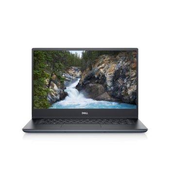 "Лаптоп Dell Vostro 5490 (N4110VN5490EMEA01_2005_UBU)(сив), четириядрен Comet Lake Intel Core i7-10510U 1.8/4.8 GHz, 14"" (35.56 cm) Full HD Anti-Glare Display & MX250 2GB, (HDMI), 8GB DDR4, 512GB SSD, 1x USB 3.1 Type-C, Linux image"