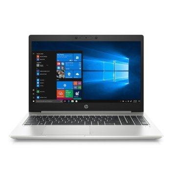 "Лаптоп HP ProBook 450 G7 (9VY79ES)(сребрист), четириядрен Comet Lake Intel Core i5-10210U 1.6/4.2 GHz, 15.6"" (39.62 cm) Full HD IPS Anti-Glare Display, (HDMI), 16GB DDR4, 512GB SSD, 1x USB 3.1 Type-C, Windows 10 Pro  image"