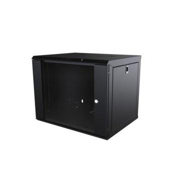 Комуникационен шкаф Mirsan MR.WTC12U60DE.01, 12U, 565 x 600 x 580 мм, черен image