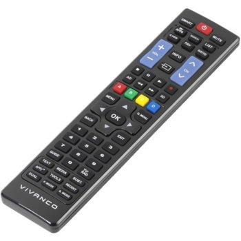 Дистанционно управление Vivanco за Samsung и LG, готово за употреба, 57 бутона, черно image