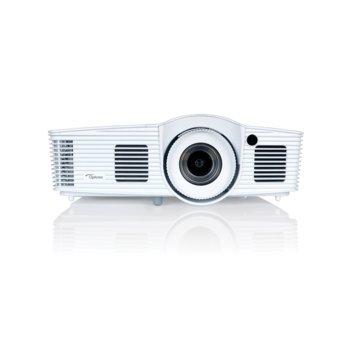 Проектор Optoma EH416, DLP, FHD (1920x1080), 20 000:1, 4200 ANSI lm, 2x HDMI/MHL, VGA, RJ-45, RS-232, USB image
