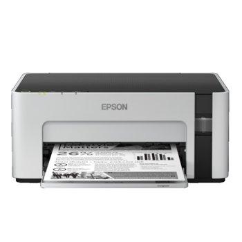 Мастиленоструен принтер Epson EcoTank M1120, монохромен, 1440 x 720 dpi, 32 стр./мин, Wi-Fi, USB, A4 image