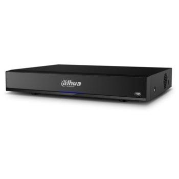 Хибриден видеорекордер Dahua XVR7104HE-4KL-X, 4 канала, H.265+/H.265/H.264+/H.264, 1x SATA, 2x USB 2.0, 1x RJ-45, 1x HDMI, 1x VGA, 1x RS485 image