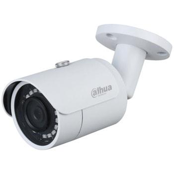 "IP камера Dahua IPC-HFW1230S-0280B-S4, насочена ""bullet"", 2Mpix(1920x1080@30FPS), 2.8mm/F2.0 обектив, H.265/H.264H/MJPEG, IR осветеност (до 30m), външна IP67, PoE, RJ-45 10/100Base-T image"