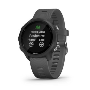 "Смарт часовник Garmin Forerunner 245, 1.2"" (3.04 cm) дисплей, GPS, Bluetooth, ANT+, Wi-Fi, черен image"