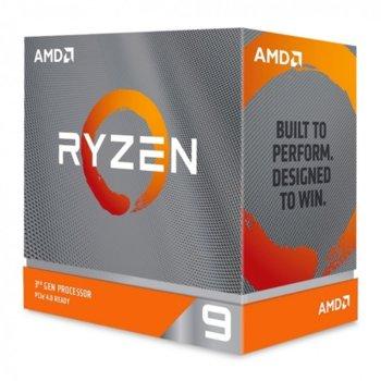 Процесор AMD Ryzen 9 3950X, шестнадесетядрен (3.5/4.7 GHz, 64MB Cache, без GPU, LGA AM4), BOX, без вентилатор image
