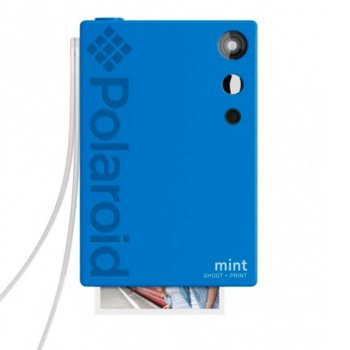 Фотоапарат Polaroid Mint, 16.0 Mpix, MicroSD слот, Zero Ink технология, Bluetooth, син image