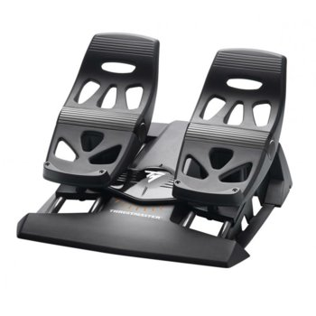 Педали Thrustmaster T-Flight Rudder (2960764), USB, за PC/XBOXONE/PS4, черни image