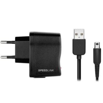 Зарядно устройство Speedlink FUZE (SL-5312-BK-01), за Nintendo DSi, DSi XL, 2DS, 2DS XL, 3DS, 3DS XL, New 3DS, New 3DS XL image