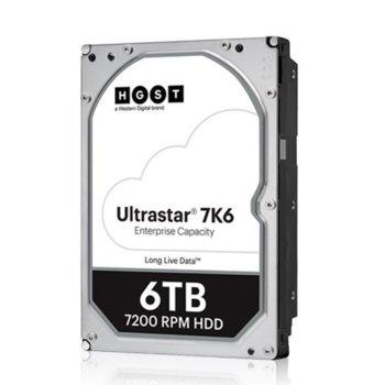 """Твърд диск 6TB HGST Ultrastar DC HC310 7K6 (512e), SATA 6Gb/s, 7200rpm, 256MB, 3.5"""" (8.89cm) image"""