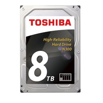 Toshiba N300 NAS - High-Reliability 8TB Bulk product