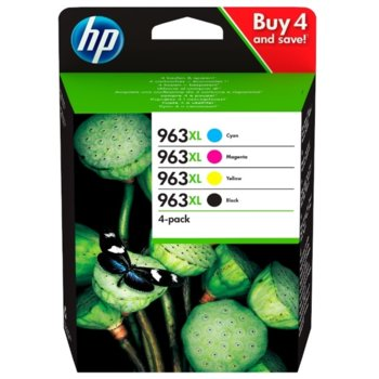 Глава за HP OfficeJet Pro 901x/902x, Black/Cyan/Magenta/Yellow, - 3YP35AE - HP - Заб.: 1600 к - цветно, - Заб.: 2000 к - черно image