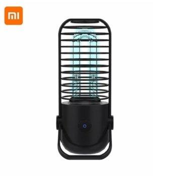 Ултравиолетова бактерицидна лампа с озон Xiaomi Xiaoda, 2.5W, 800mAh батерия, 10000H живот на лампата, черна image