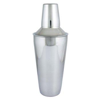 Шейкър за коктейли Kinghoff KH 1230, висококачествена неръждаема стомана, 500 ml обем, инокс image