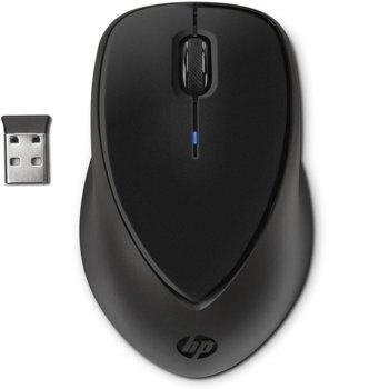 Мишка HP H2L63AA, безжична, оптична (800dpi), USB, черна image