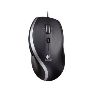 Мишка Logitech M500, лазерна (1000 dpi), USB, черна image