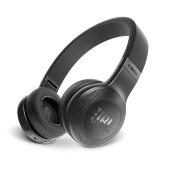 Слушалки JBL E45BT, безжични, микрофон, до 16 часа работа, черни image