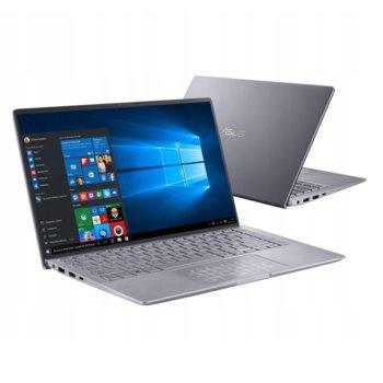 "Лаптоп Asus ZenBook 14 UM433IQ-WB711T (90NB0R89-M02030)(сив), осемядрен AMD Ryzen 7 4700U 2.0/4.1GHz, 14.0"" (35.56 cm) Full HD Anti-Glare Display & GF MX350 2GB, (HDMI), 16GB, 512GB SSD, 1x USB 3.1 Type C, Windows 10 Home  image"