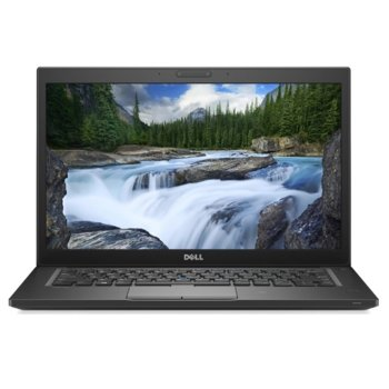 "Лаптоп Dell Latitude 7490 (N079L749014EMEA), четириядрен Kaby Lake R Intel Core i5-8250U 1.6/3.4 GHz, 14.0"" (35.56 cm) Full HD Anti-Glare дисплей (HDMI), 8GB DDR4, 256GB SSD, Thunderbolt 3, Ubuntu, 1.40 kg image"