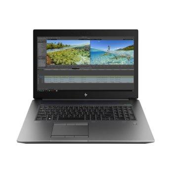 "Лаптоп HP ZBook 17 G6 (6CK24AV_31600592)(сив), осемядрен Coffee Lake Intel Core i9-9880H 2.3/4.8 GHz, 17.3"" (43.94 cm) UHD/4K Anti-Glare Display & Quadro RTX 3000 6GB, (mDP), 32GB DDR4, 2x 1000 GB SSD RAID 1, 2x USB Type-C, Windows 10 Pro image"