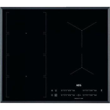 Вграден керамичен плот AEG IKE64471FB, 4 нагревателни зони, OptiHeat, черен image